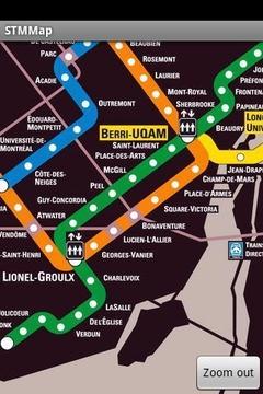 STM Metro Map
