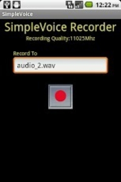 SimpleVoice Audio Recorder