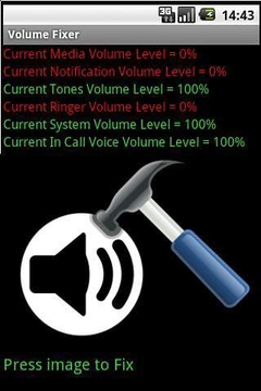 Volume Fixer