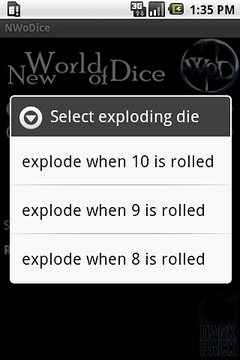 New World of Dice
