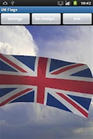 国旗系列手机壁纸-英国国旗