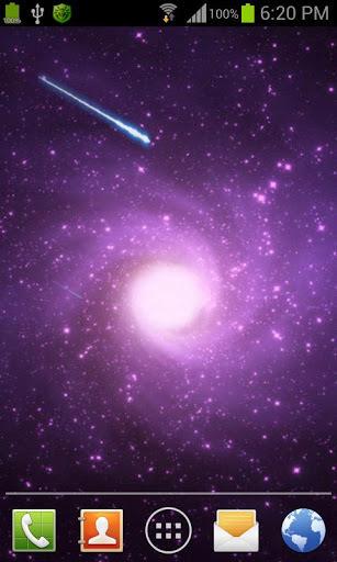 梦幻漩涡星系星云