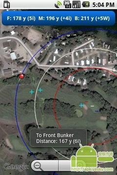 GPS高尔夫球测距仪