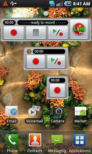Gphone录音软件——Livo Recorder Pro 多功能录音器