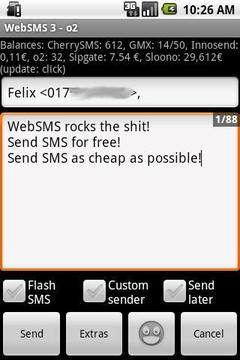 网络短信:O2连接器