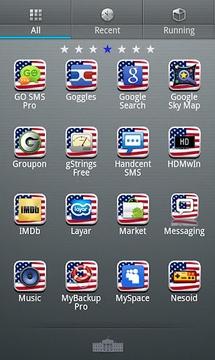 USA GO Launcher EX Theme