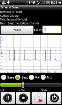 Gnaural Demo for Android