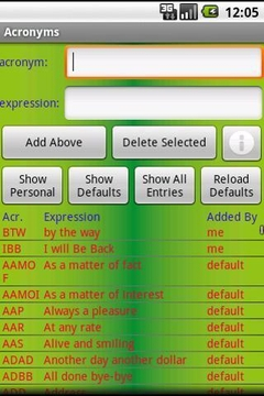 Acronyms Free