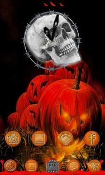 Halloween Style Clock