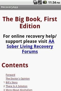 RecoveryApp