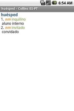 西班牙语-葡萄牙语迷你词典