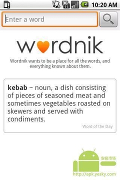 Wordnik词典