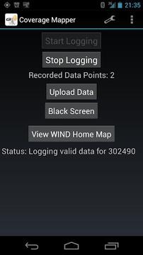 覆盖映射(GSM + CDMA)