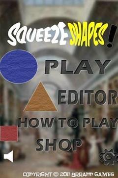 SqueezeShapes!