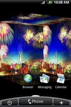 3D City Fireworks
