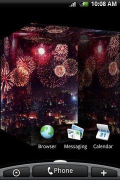 3D City Fireworks