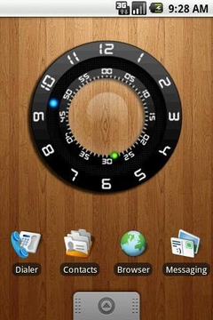 Meizu Clock Widget 4x3