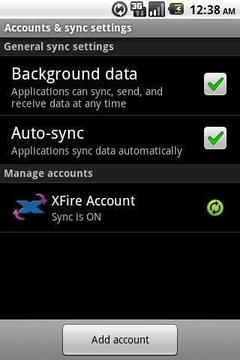 XFire Sync