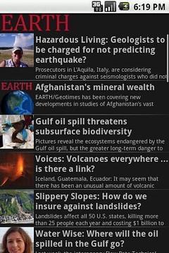 EARTH Magazine