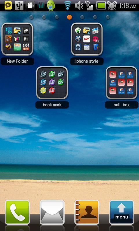 仿iPhone文件夹 iPhone Style Folders