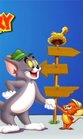 猫和老鼠-3d桌面壁纸