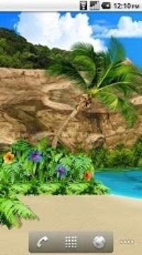 3D Oasis Live Wallpaper