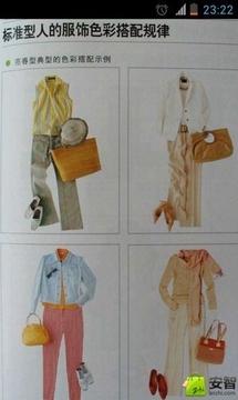 女性服饰色彩搭配
