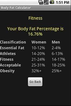 体脂肪计算器