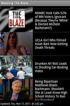 Read The Blaze