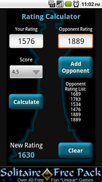 Rating Calculator