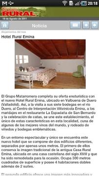 Revista Turismo Rural