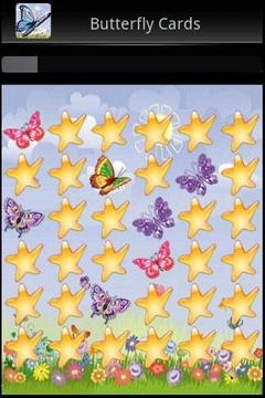 蝴蝶记忆卡游戏
