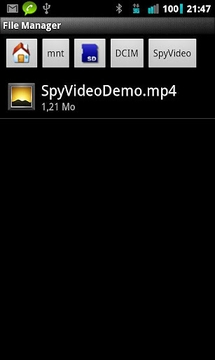 Spy Video DEMO