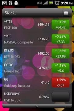 可滚动的股票的部件