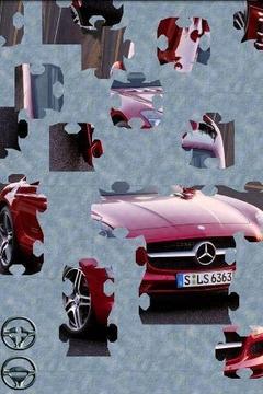 运动汽车拼图