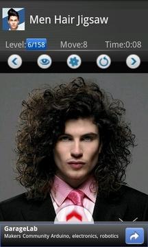 Men Hair Jigsaw