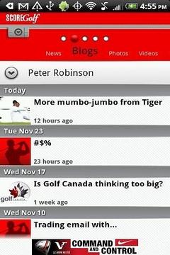 分数高尔夫新闻
