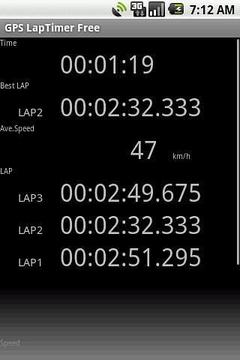 GPS计时器精简版