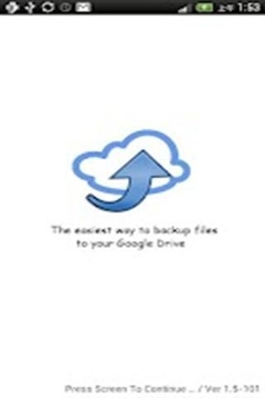 Cloud File Backup - GDrive