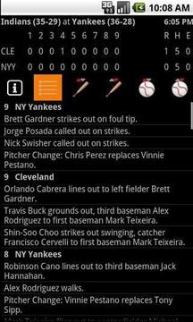 MLB Scoreboard
