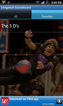 Dodgeball Soundboard
