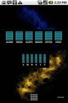 AM Skin: Neon Blue