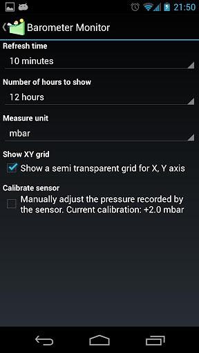 Barometer Monitor