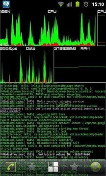 System Stats Wallpaper/Widget