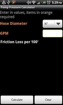 Pump Pressure Calculator Lite