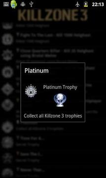 Killzone 3 Trophies