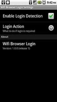 WIFI浏览器登录