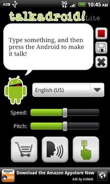 快讯- A- Droid的文本到语音转换
