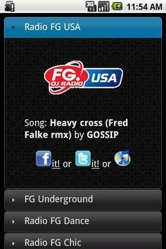 Radio FG USA Application