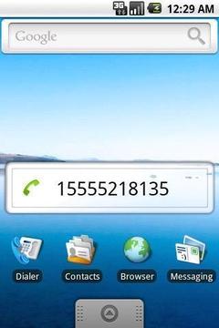 自己手机号码显示